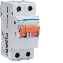 Interruptor magneto 1p+n 10a c 6ka