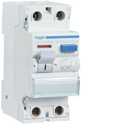 INTER. DIFERENCIAL TIPO AC 2P 25A 30MA