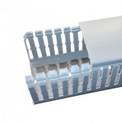 CANAL 25X40 DE PVC PARA CABLES RANURADO