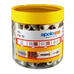 TACO FX 10 EN BOTE PLASTICO 70 PCS BOTE