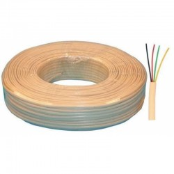 Cable portero c/funda 4x0,2