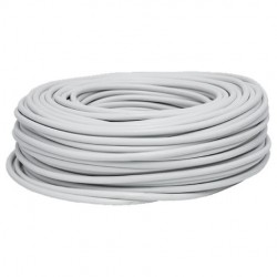 Cable lf h05vv-f 3g1,5 blanco r/100