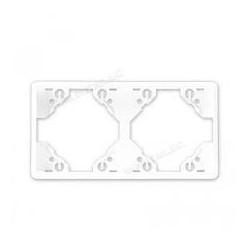 Marco doble horizontal blanco 50921 tbr