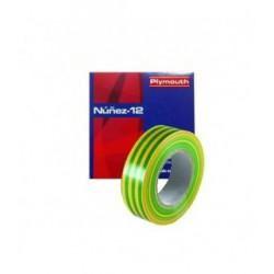 CINTA AISLANTE PVC NUÑEZ 12 20X19MM A/V