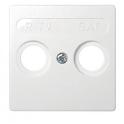 TAPA R-TV-SAT (BLANCO)