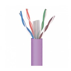 CABLE DATOS U/UTP CAT-6 LSFH VIOLETA 305