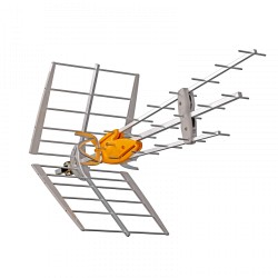 ANTENA TERRESTRE DAT BOSS UHF(C21-60) G 45DBI COLECT.