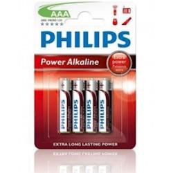 PILA ALKALINA PHILIPS LR03 (AAA) BLISTER