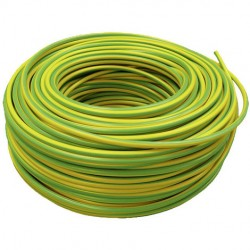 CABLE AFi. L H07Z1-K 1X2,5 AM. VERDE cpr