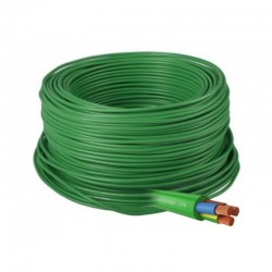 CABLE RZ1-K 0,6/1KV (AS) CPR 5G2,5 VERDE