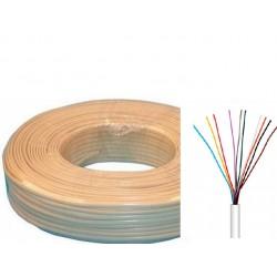 Cable portero c/funda 10x0,2