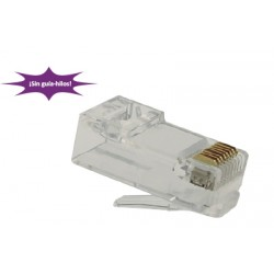CONECTOR RJ45 MACHO HQ CAT 6 UTP 2P 8P8C
