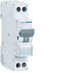 automatico magnetotermico ml 1p+n 10a c 6ka
