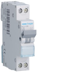 automatico magnetotermico ml 1p+n16a c 6ka