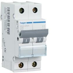 automatico magnetotermico 1p+n 32a c 6ka